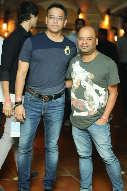 (L-R) Felix Bendish, Ranjit Rodricks