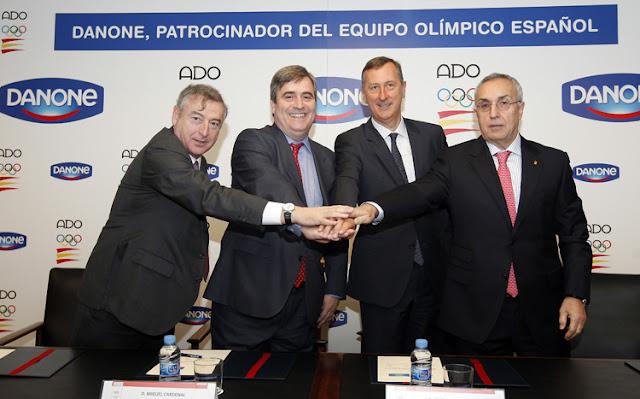 Danone patrocinará al equipo olímpico español