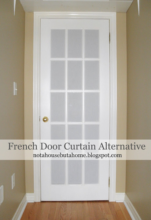 Not A House, But A Home: Tutorial: DIY French Door Curtain ...
