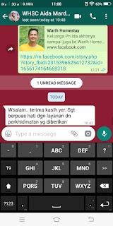 Warih-Homestay-Sri-Cempaka-Kajang-Testimoni-Pn-Aida-2