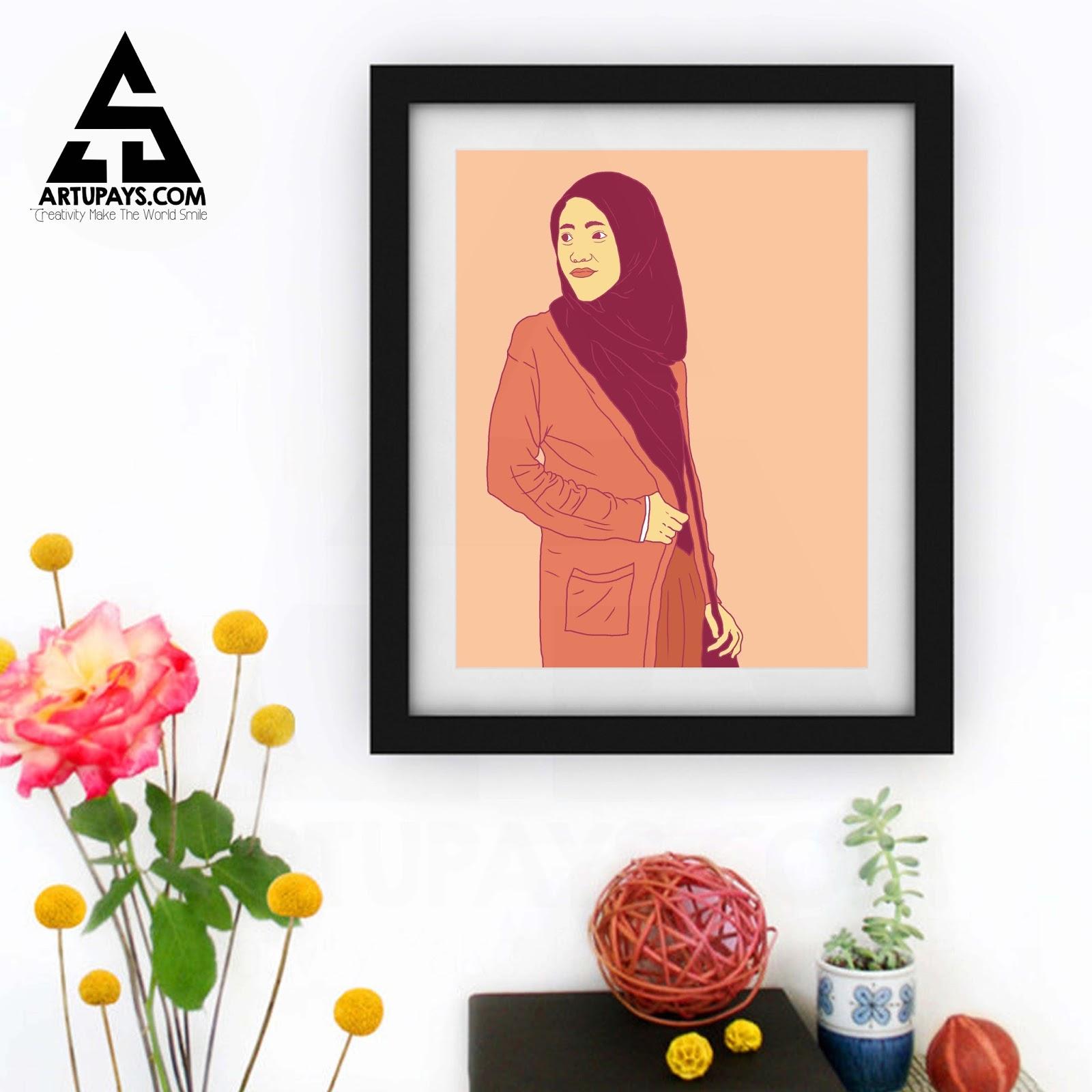 Line Art Wajah : Line art colour artupays
