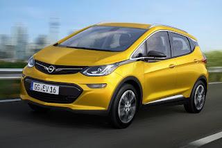 Opel Ampera-e (2017) Front Side