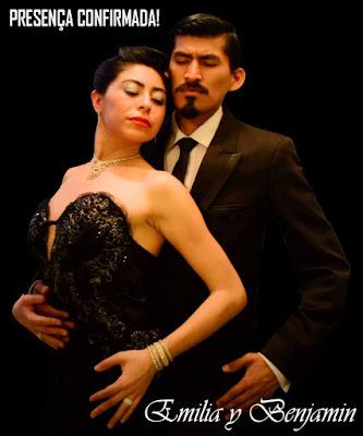 Emilia y Benjamin - Aula de Vals - Giros com seguridade. Enrosques e Adornos -1º Tango Abc