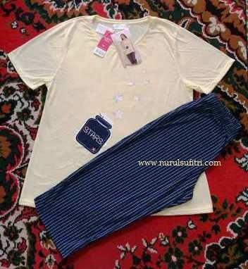 sleepwear baju tidur merk felancy nurul sufitri mom beauty blogger gathering goody bag