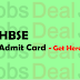 HBSE Admit Card 2017 - Check Haryana Board 10th/ 12th Roll No.