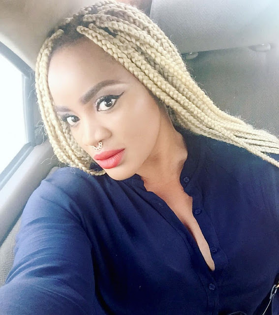 Actress Uche Ogbodo pens apology for using The F-word