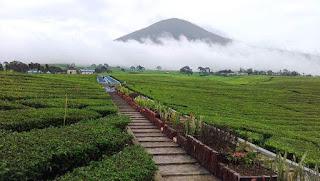 Gunung Dempo di Palembang