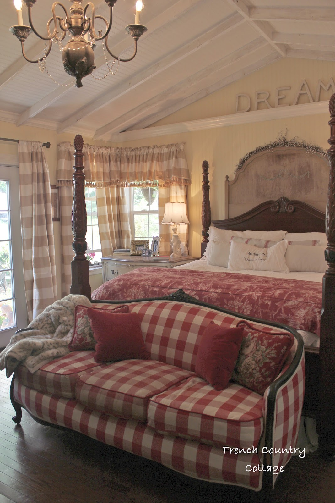 French Country Sofa Fabric Purple Living Room Furniture Sofas A Full Of Sunshine Inspirations Cottage