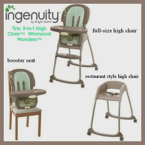 bright starts high chair dining room table accent chairs the trio 3 in 1 whimsical wonders review
