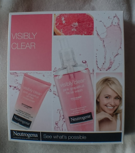 Neutrogena Visibly Clear Pink Grapefruit Facial Gel  Krem nawilżający do twarzy - Neutrogena Visibly Clear Pink Grapefruit Oil Free moisturiser