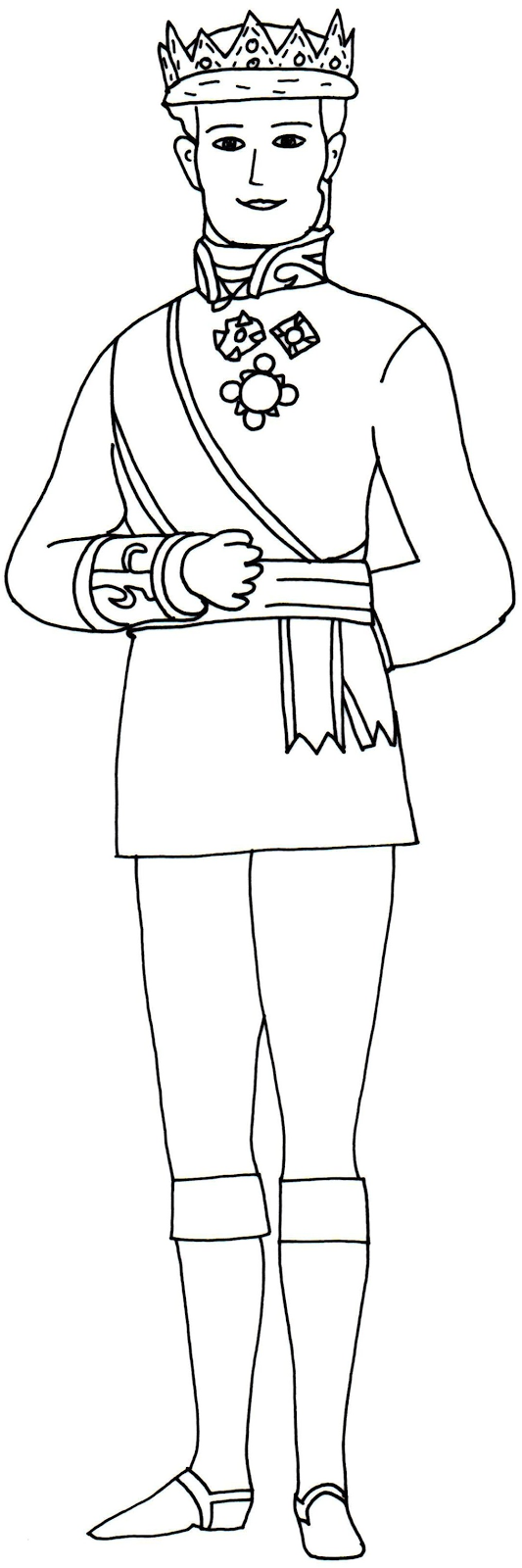 Sofia The First Coloring Pages King Rolland Ii Sofia The First