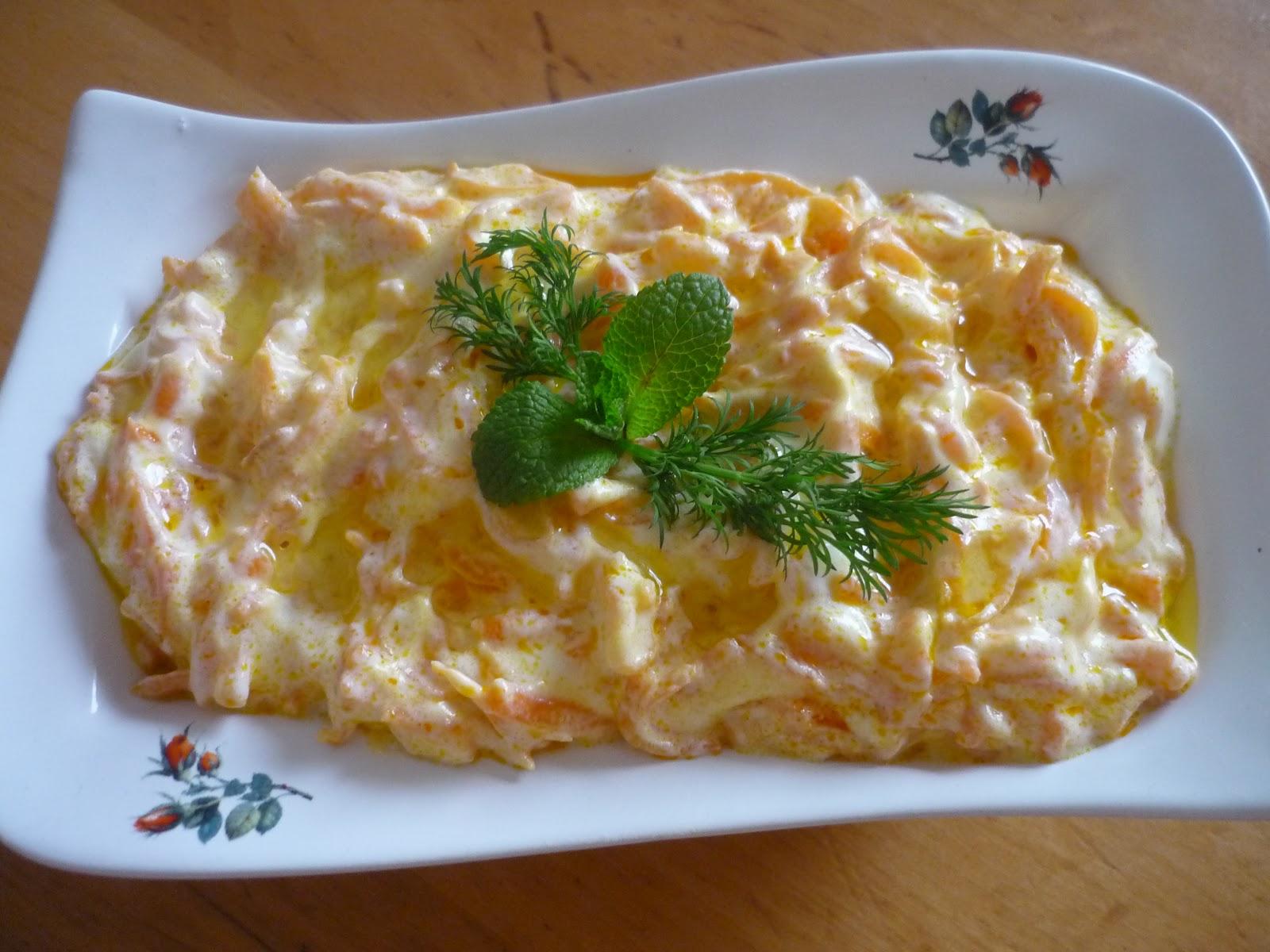 Somon ile çok lezzetli ve sağlıklı bir salata