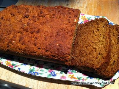 Irish Brown Soda Bread from recipe from Ashford Castle in Ireland