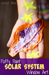 puffy paint craft