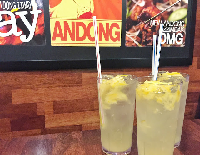 Andong Zzimdak Singapore - Iced Citron Tea