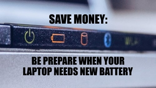 Save money replace old laptop battey immediately