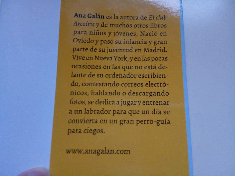 Autora Ana Galán