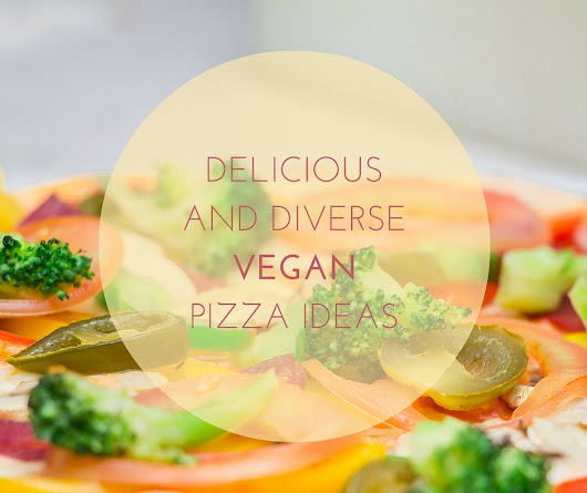 A medley of delicious and diverse vegan pizza ideas