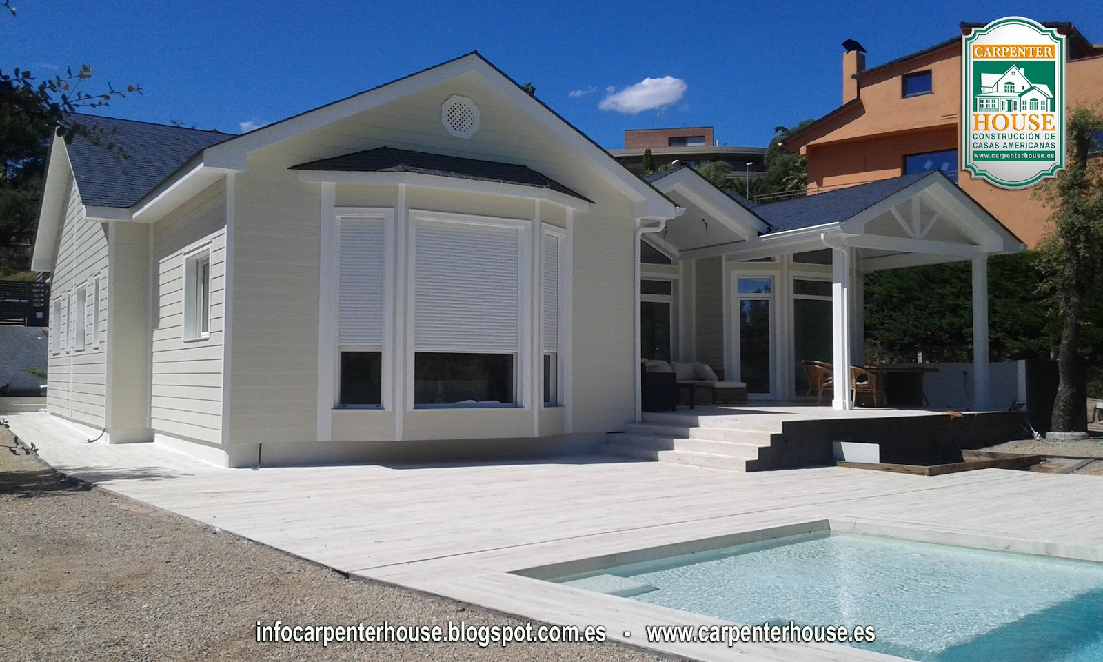 Carpenter house 7 fase construcci n casa en el vall s - Casas en valles occidental ...