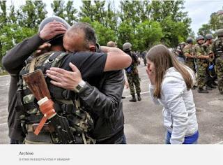 Les autorités ukrainiennes et les séparatistes prorusses