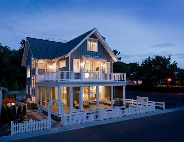 20 Desain Rumah Kecil Bertingkat Minimalis