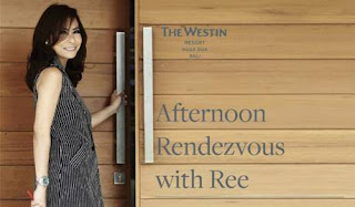 Source: The Westin Resort Nusa Dua, Bali. Poster for  Afternoon Rendezvous with Ree.