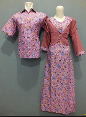 45 Model Dress Baju Batik Guru Wanita Muslim Terbaru 2019