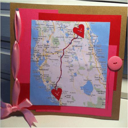 haritada aşk işaretleme