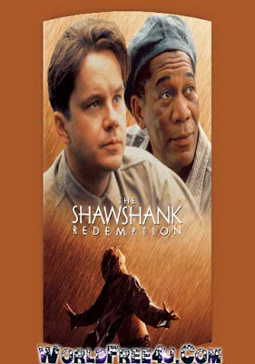 Poster Of The Shawshank Redemption In Dual Audio Hindi English 300MB Compressed Small Size Pc Movie Free Download Only At worldfree4u.com