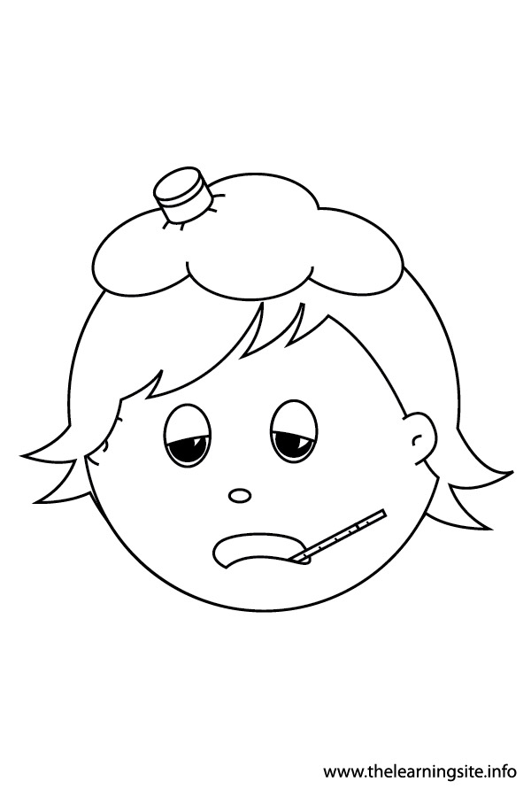 Feelings Coloring Pages Sketch Coloring Page