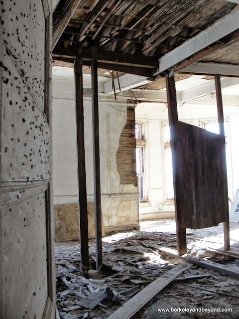 interior of Preston Castle in Ione, California