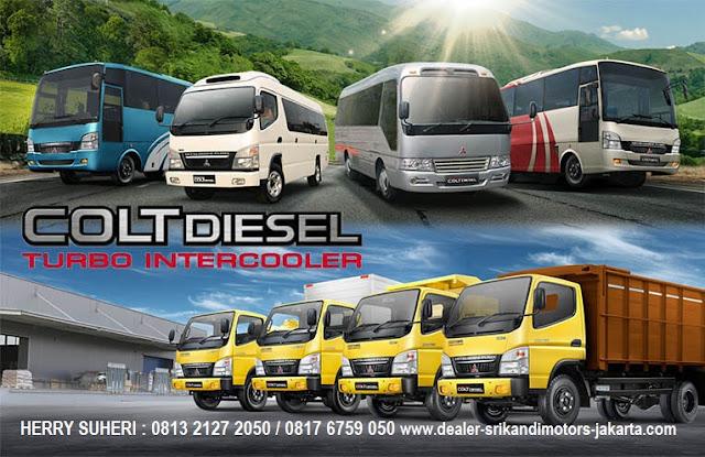 promo paket mitsubishi - mini bus - micro bus - medium bus - 2017