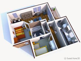 تحميل برنامج sweet home 3d 4.2 لتصميم المنازل