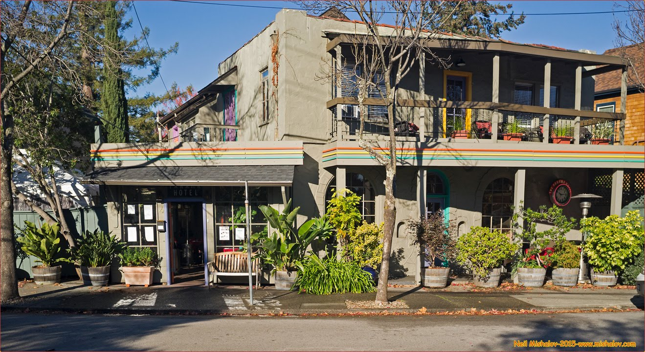 The Panama Hotel And Restaurant Is Located At 4 Bayview Street San Rafael Click On Image To See Full Size Photograph