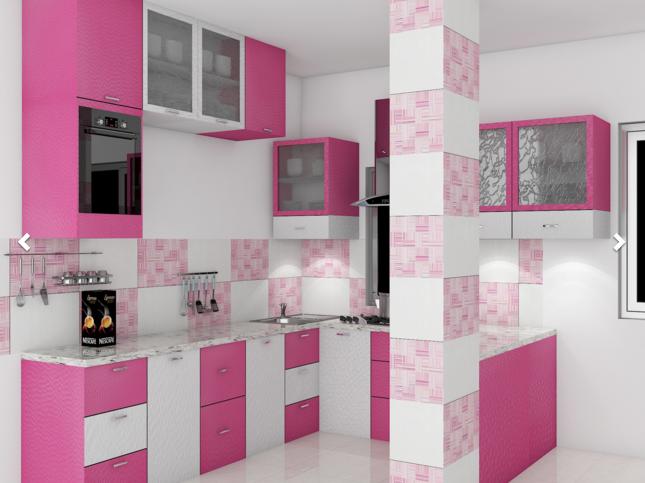 10 beautiful kitchen design ideas for small places - Magenta Kitchen Design