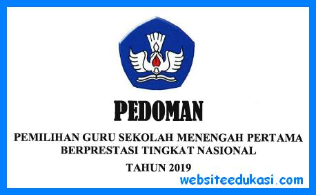 Pedoman Guru Berprestasi SMP 2019
