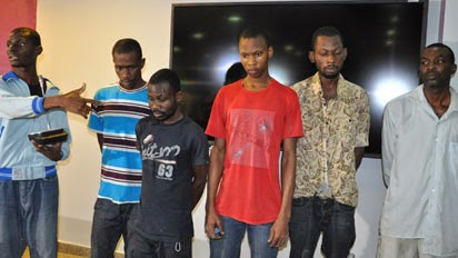 Photo: Alleged Kidnappers Of President Jonathan's Uncle Nabbed