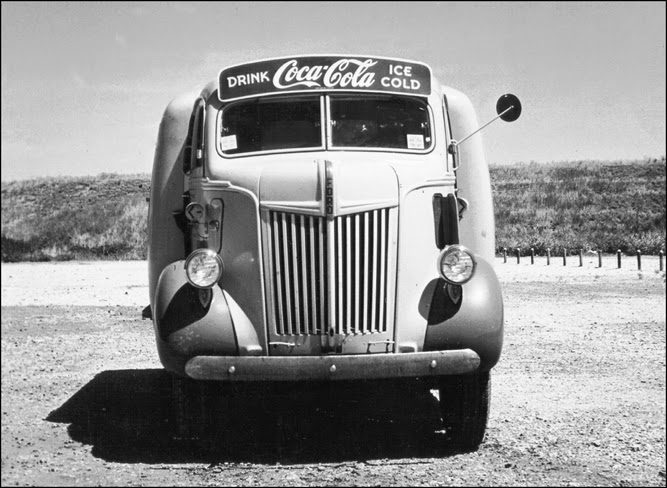 Vintage Photos Of Ford Coca Cola Delivery Trucks From