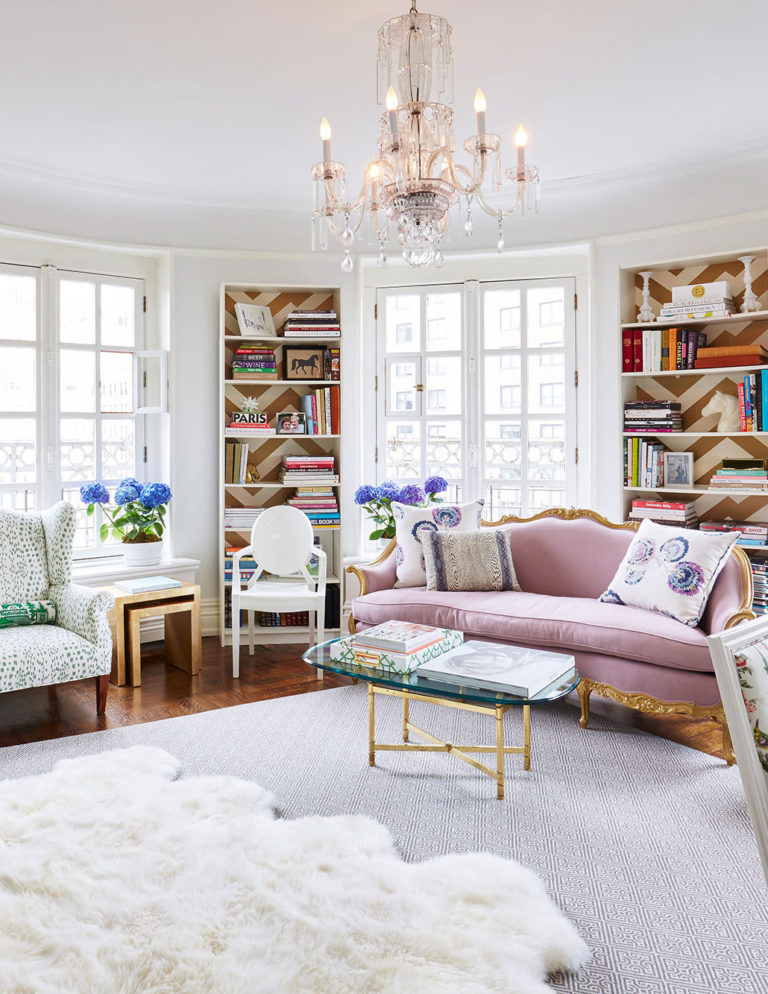 Decor Inspiration: Feminine & French Home, New York | Cool Chic ...
