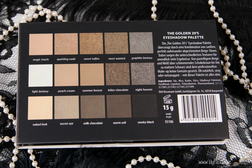 Rival de Loop - The Golden 20's - Eyeshadow Palette