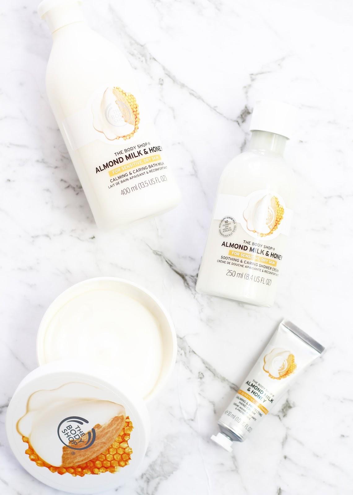 THE BODY SHOP | Almond Milk + Honey Range - CassandraMyee