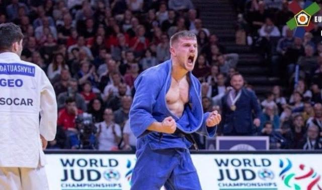 Albanian U23 Judoka Akil Gjakova wins European Championship