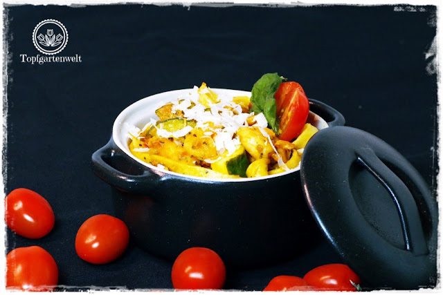 Gartenblog Topfgartenwelt Pasta-Rezept: schnelles gesundes Pasta-Rezept