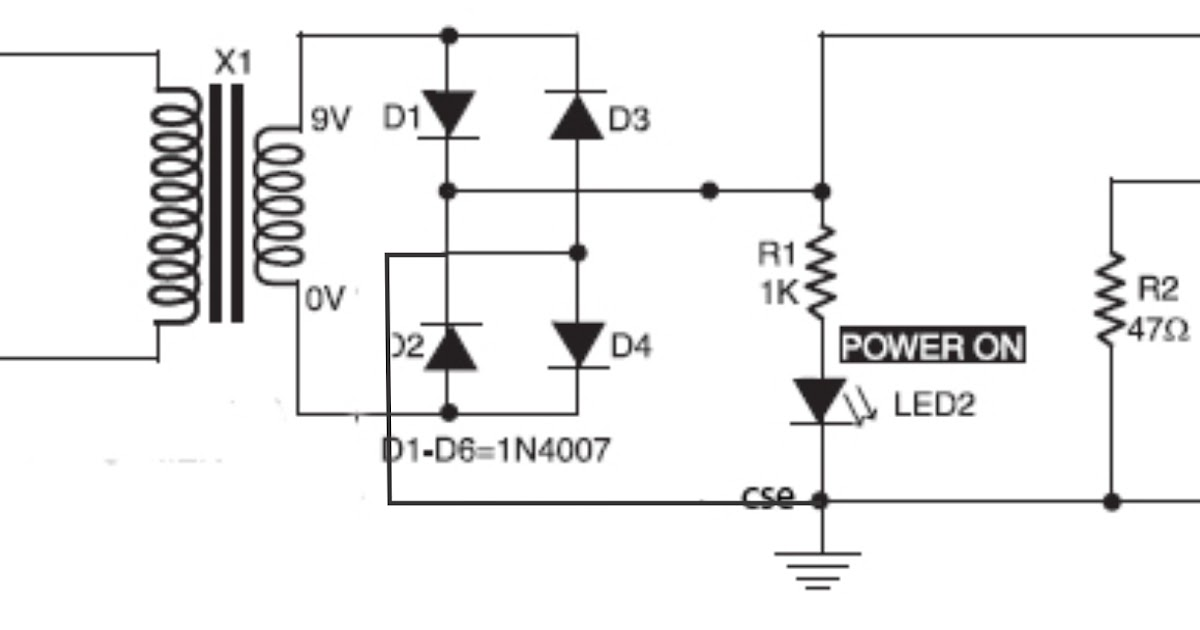 simple accu charger circuit