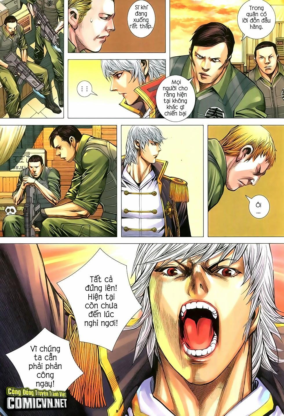 Đại Quân Phiệt chap 29 trang 12