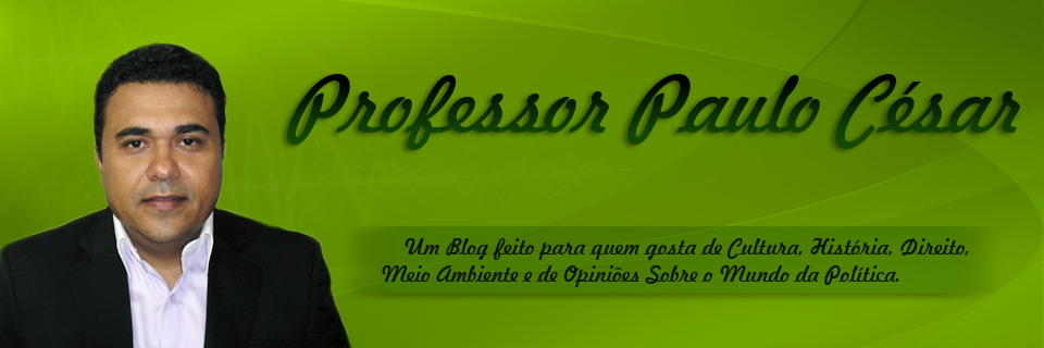 Blog do Professor Paulo César