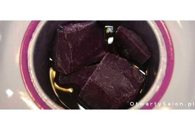 roztapianie wosku do depilacji wax