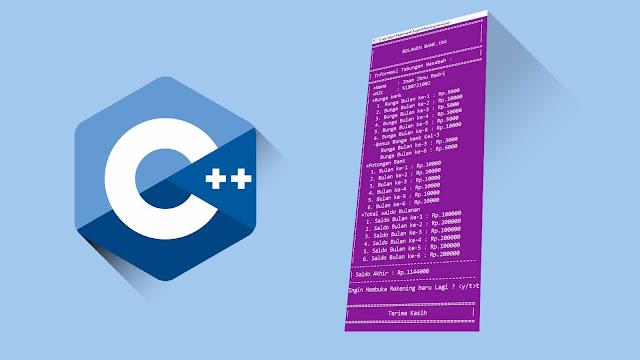 [Studi Kasus] Membuat Rekening Baru C++