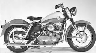 xl sportster 1957 black and white