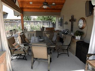 Custom Outdoor Kitchen DFW 10